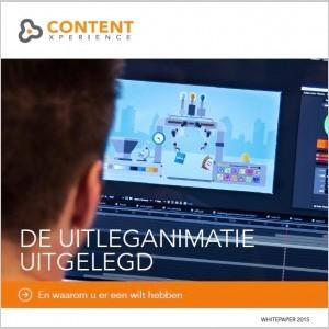 Whitepaper de uitleganimatie uitgelegd contentxperience - Hoe een studio van m te ontwikkelen ...